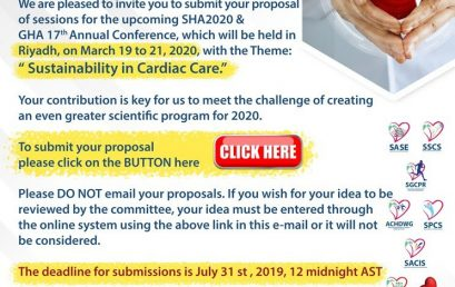 Proposals for SHA2020 & 17th GHA Annual Conference