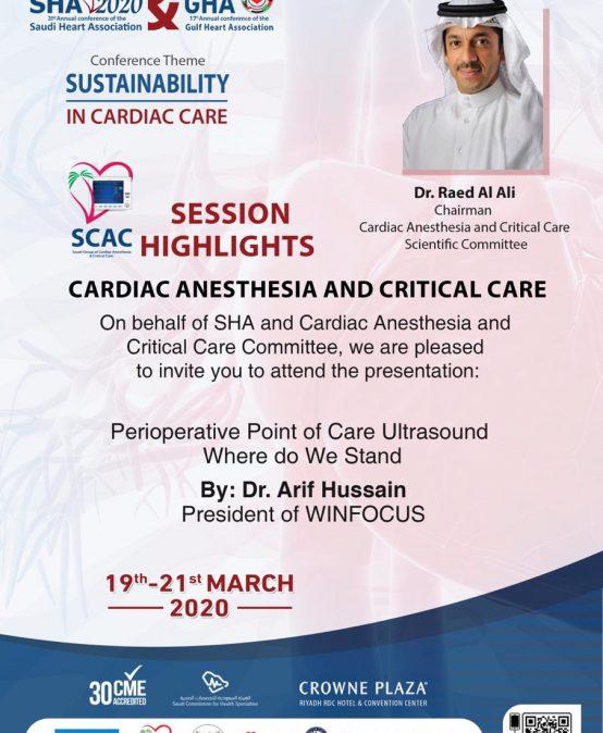 Cardiac Anesthesia and Critical Care