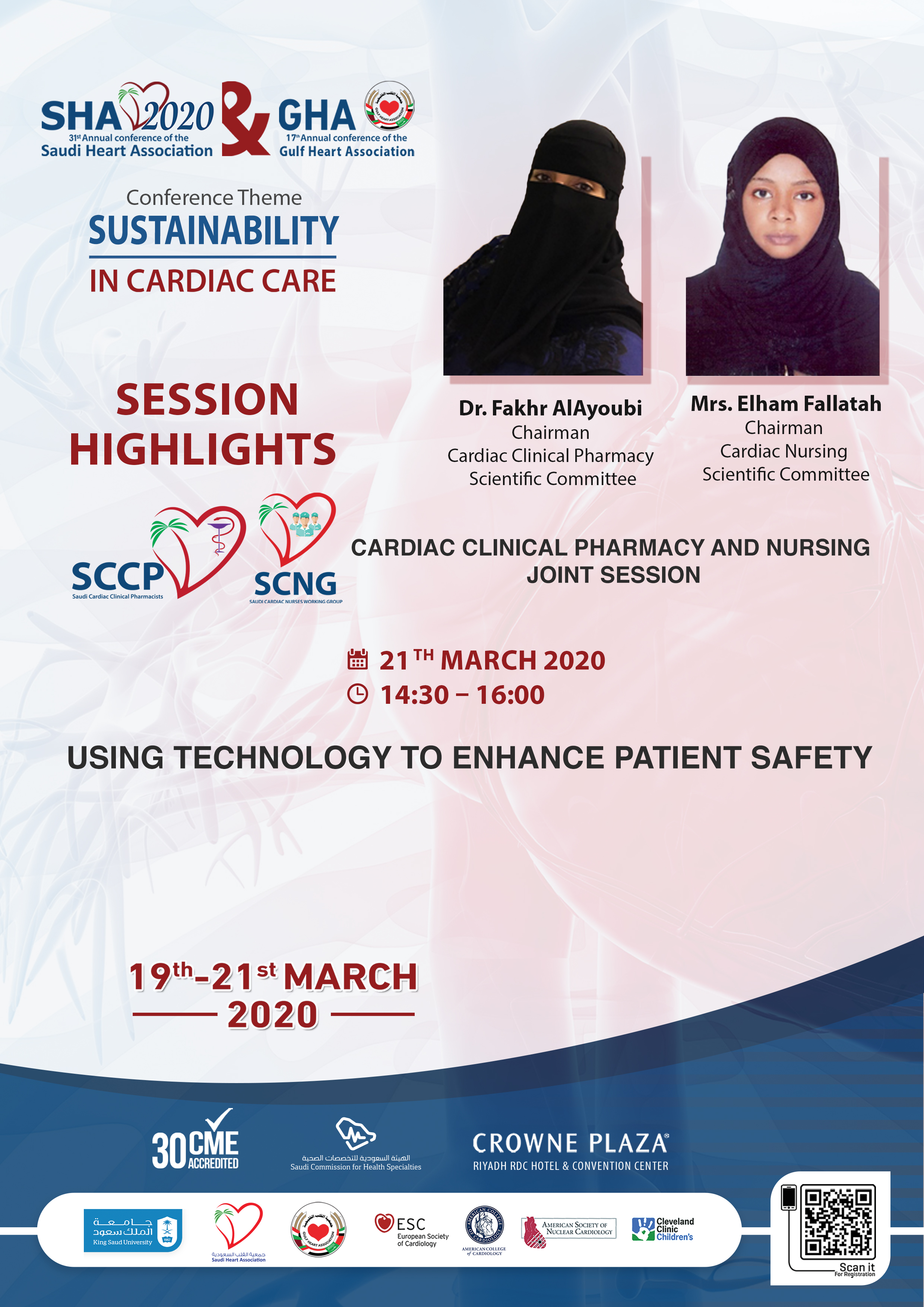 Cardiac Clinical Pharmacy and Nursing Joint Session