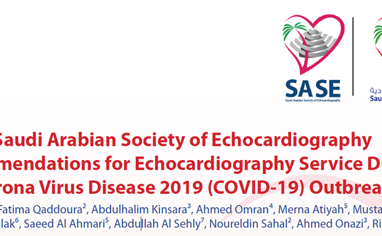 Recommendations for Echocardiography Service During Corona Virus Disease Outbreak